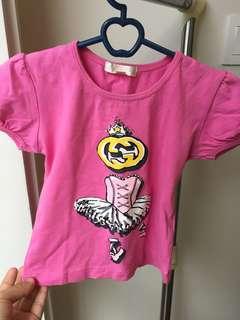 GUCCI Pink kids top