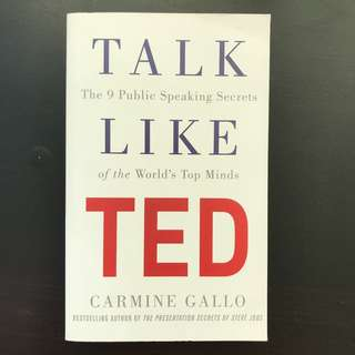 Talk Like TED by Carmine Gallo