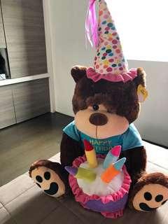 Toy Kingdom Happy Birthday Bear