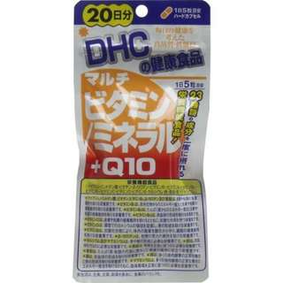 DHC 多種維生素/礦物質 20天100粒  (包平郵)