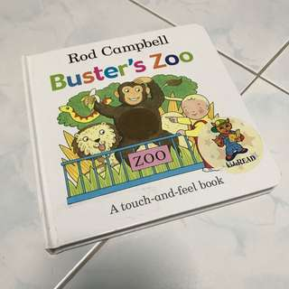 Buster's Zoo Rod Campbell Book