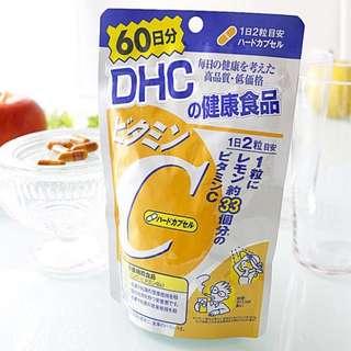 DHC 維生素C 120粒60天 (包平郵)