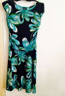 Floral A-Line Dress