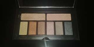 Smashbox metallic eyeshadow palette