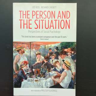 The Person and the Situation by Richard E. Nisbett