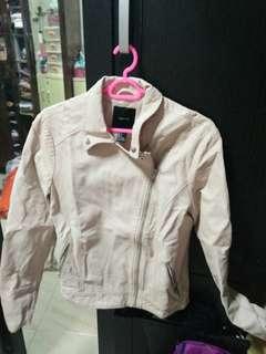 Forever 21 pink leather jacket