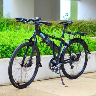 Ford by Dahon Espresso D24 26 Inches Foldable Bicycle / Foldie (Modified)