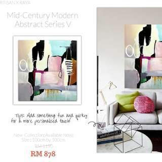 PROMO RAYA - ABSTRACT OIL PAINTING