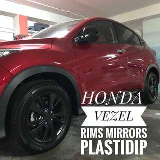 Honda Vezel Plastidip Service Plasti Dip
