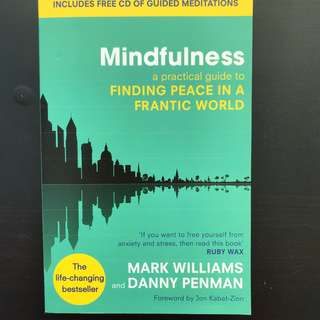 Mindfulness by Dr Danny Penman (includes CD)
