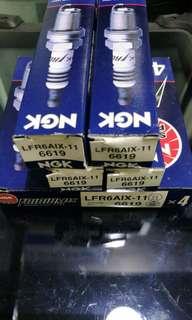 NGK LFR6AIX-11 IRIDIUM SPARK PLUG 6619