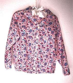 GingerSnaps 🇵🇭 Size2T Flower Blouse