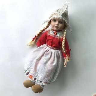 荷蘭手製手工娃娃