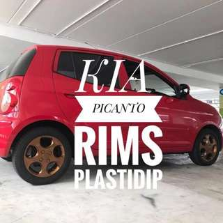 Kia Picanto Plastidip Service  Plasti Dip