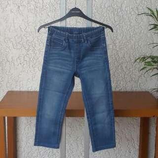 UNIQLO KIDS Stretch Jeans For Boys Size L Denim