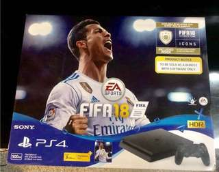 PS4 Sony FIFA 18 Bundle Pack, Local Set