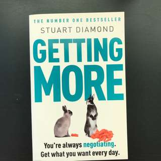Getting More by Stuart Diamond