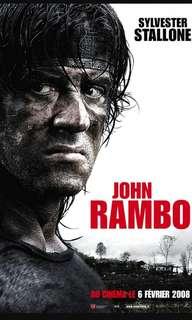 (Rambo電影紀念品 )- 主角-軍中名牌編號84637857