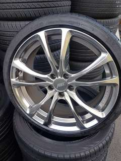 ABT germany 19inch rim with tyre