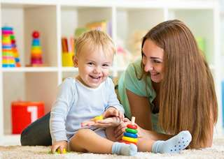Babysitter and teaching service