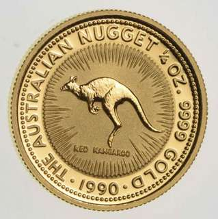 Australia Gold Coin (999 Gold) - Year: 1990
