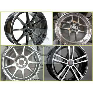 15吋 精選特價鋁圈 搭倍耐力 195/55/15 歐洲廠 P1verd 均一完工價~5月限時促銷
