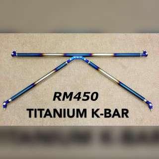 Titanium K-Bar