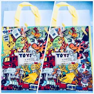 BN Limited Edition Toys R Us Carrier Bags