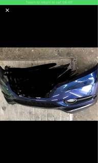 Honda Vezel Bumper Blue