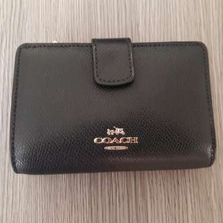 Coach wallet real