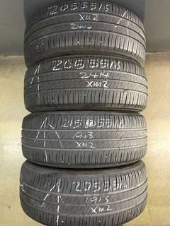 205/55/16 michelin used tyre 4pc available 1pc $35