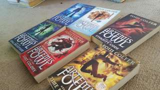 Artemis Fowl first 6 books