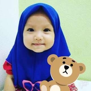 Tudung budak / baby