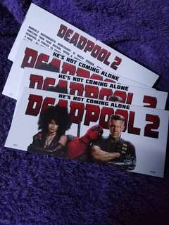 Blockscreening of deadpool