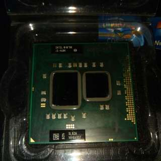 Intel core i5-460m laptop processor