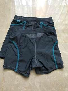 Skins Compression Shorts Junior Girls