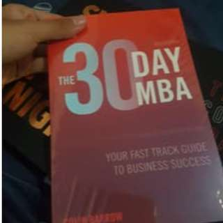 Buku The 30 Day MBA (Paling Murah)