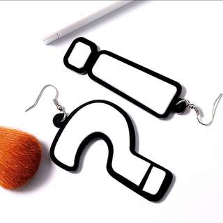 Question and Exclamation Mark Earrings