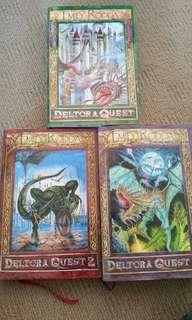 DELTORA QUEST Complete book series!