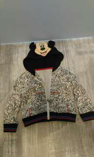 Disney jacket with hoodie