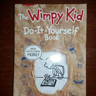 The Wimpy Kid- Do it yourself book