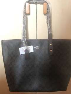 Coach Tote Bag Authentic Quality with Dust Bag and Authenticity Card and Paper Bag
