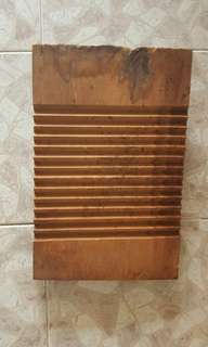 Vintage washing board