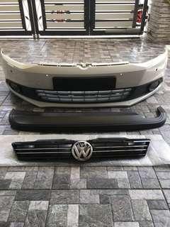 Bumper,grill & diffusor stock jetta