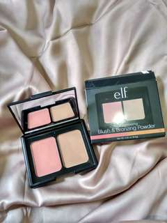ELF bronzing and blush