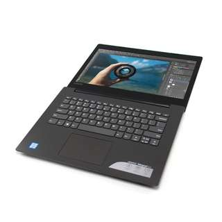 Laptop Desain Kuliah Sekolah Gaming Murah Lenovo Ideapad 320-14ISK with 4GB RAM | Core i3 | HDD 1000 GB | 11 Inchi | Full Black