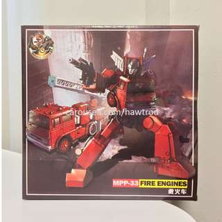 (In Stock) Robot Fantasy, MPP33 Fire Engines (oversized MP Inferno)