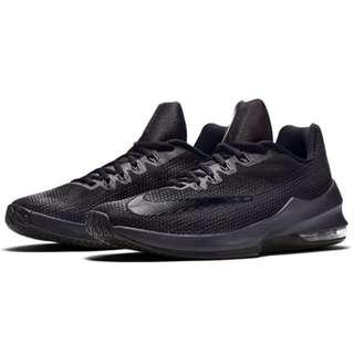 現貨 Nike  AIR MAX INFURIATE LOW EP 籃球鞋 男 黑 球鞋 866071-001