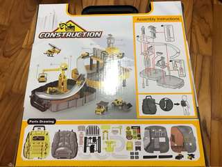 Construction Series Fold and Go Backpack