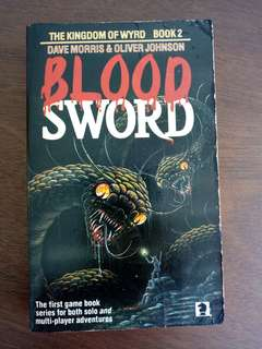 Blood Sword Gamebook 2 - The Kingdom of Wyrd